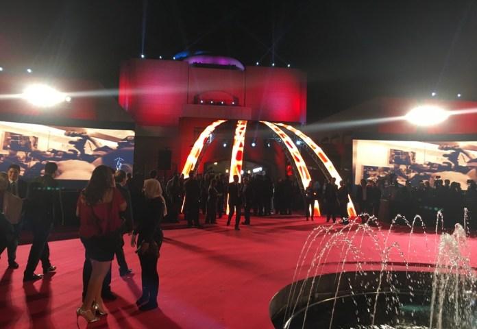 Entrée du Palais de l'Opéra