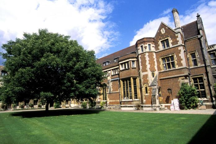 Pembroke College, Cambridge.
