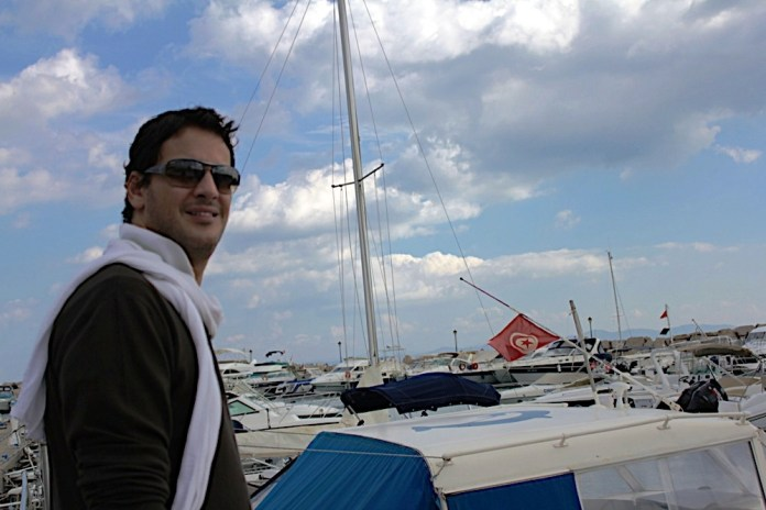 Khaled Abol Naga à Sidi Bou Said - Tunisie
