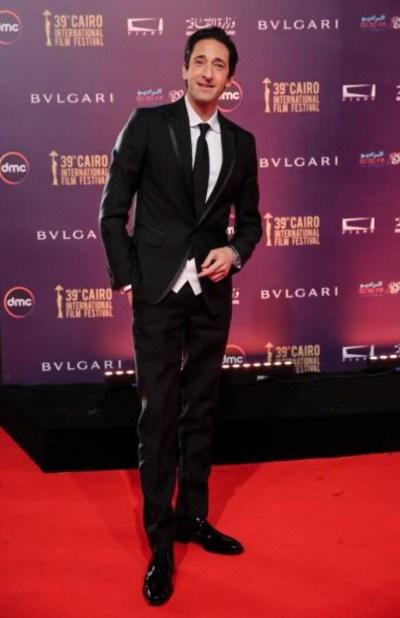 Adrien Brody sur le tapis rouge du CIFF