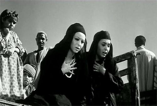 """Faten Hamama dans le film """"Le péché"""""""