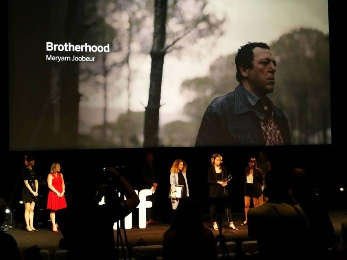 Remise du prix à Meryam Joobeur pour son film Ikhwène