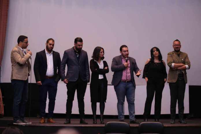 CIFF - L'équipe du film Dachra après la projection