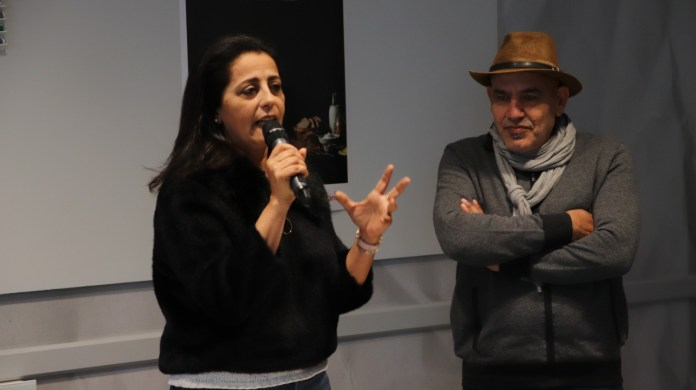 """MAFF 2019 - Areen Omari et Rashid Masharawi présentent leur projet de film """"Looking for Saada"""""""