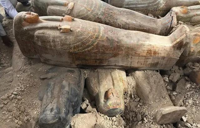 Sarcophages Egypte