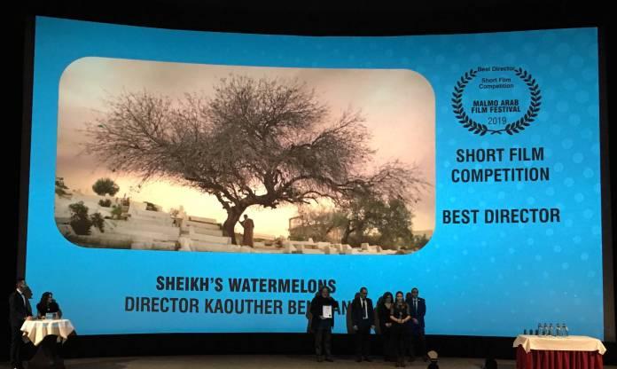 Le Prix de la réalisation pour Kaouthat Ben Habia Les pastèques du cheikh