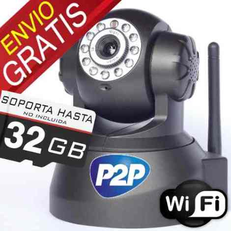 Camara Ip Wifi Plug&play Visión Nocturna Android Iphone