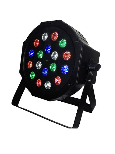 Cañon Par 64 Led 18x1w Hyper Leds Dmx Alta Luminosidad*