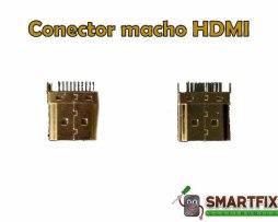 Conector Jack Macho Hdmi Roku Stick Android Tv Chrome Cast