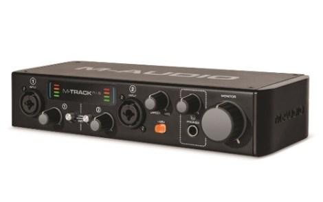 Interfaz De Audio Usb 2 Canales M-track Plus 2a Gen. M-audio