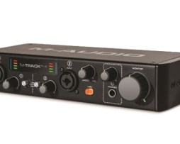 Interfaz De Audio Usb 2 Canales M-track Plus 2a Gen. M-audio