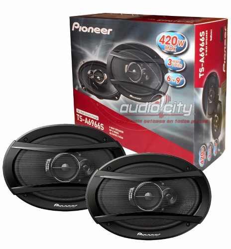 Juego De Bocinas Pioneer 6×9 Ts-a6966s 420 Watts 3 Vías