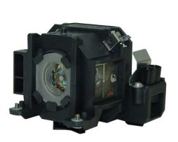 Lámpara Con Carcasa Para Epson Powerlite1705c Proyector