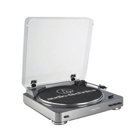Tornamesa Audio-technica At-lp60 Automatica Estereo – Gris