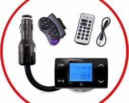 Transmisor Fm Bluetooth Mp3 Control Volante Manos Libres
