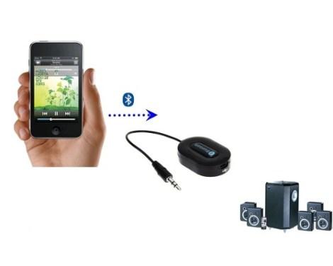 Transmisor Receptor Bluetooth Para Audio 3.5 Mm Plug In