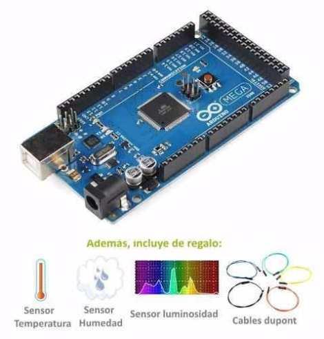 Arduino Mega Kit De Sensores De Regalo Y Libros Digitales