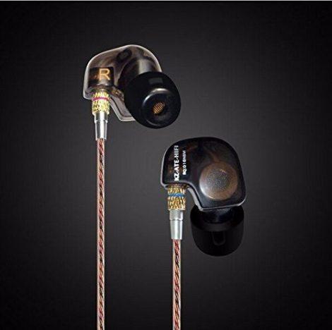 Audífonos Monitor Personal In Ear Qkz Ate Negro Transparente