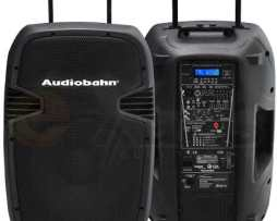 Bafle Audiobahn 8000w Recargable Con Indicador Led D Batería