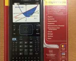 Calculadora Ti-nspire Cx Cas 1 Año De Garantía + Estuche!!!