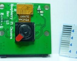 Camara 5mp Para Raspberry Pi B+ C/ Cable Flexible Ver.chn