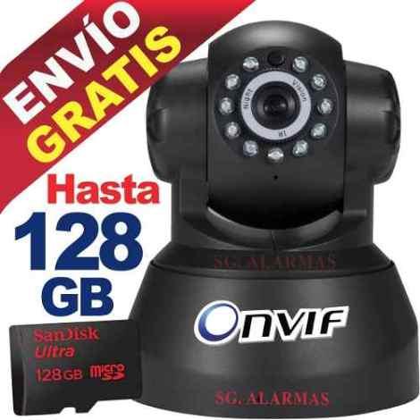 Camara Ip Inalambrica Wifi Vigila Por Internet Video Audio