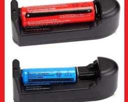 Cargador Universal + 2 Pilas Baterias Recargables 18650