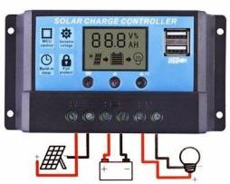 Controlador De Carga Solar De 20 A