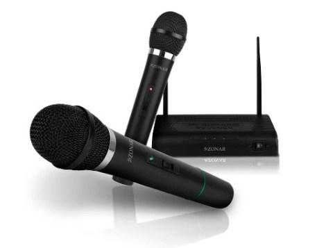 Kit 2 Microfonos Inalambricos Profesionales + Receptor 6.3mm en Web Electro