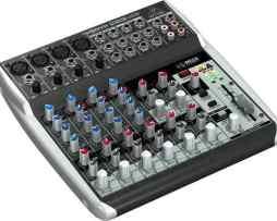 Mezcladora 12 Entradas Mod Q1202usb Behringer Interface Usb