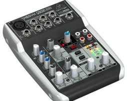 Mezcladora 5 Entradas Mod Q502usb Behringer Interface Usb