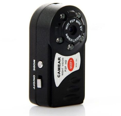 Mini Camara Ip Wifi Con Vision Nocturna Para Android Iphone