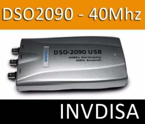 Osciloscopio Digital 40mhz Dso2090 – 2 Canales