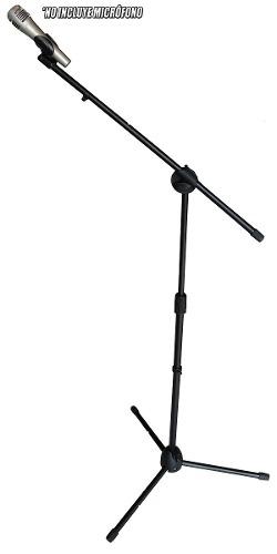 Pedestal Tripie De Microfono Con Boom