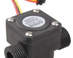 Sensor De Flujo De Agua Caudalimetro 1 A 30 L/min Refactron