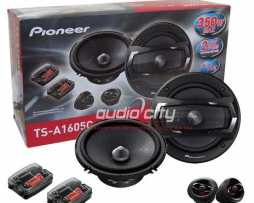 Set De Medios Pioneer Ts-a1605c 6 1/2  350 Watts.oferta!