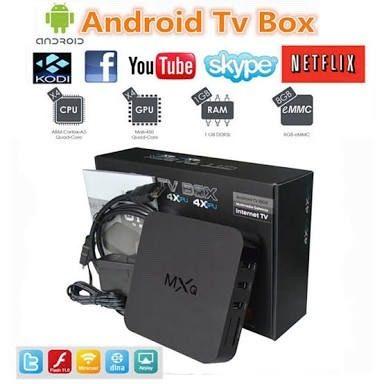Smart Tv Box Mxq Netflix Kodi Quad Core Miracast Android