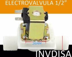 Válvula Solenoide Electroválvula Agua 1/2 12v