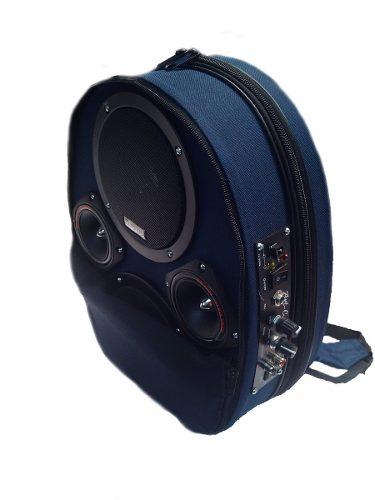 Amplificador Portatil Mochila 800w Con Lector Usb