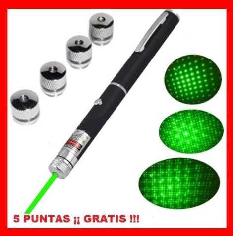 Apuntador Láser Verde 50 Mw 15 Km Multipuntos + Envio Gratis en Web Electro