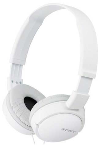 Audifonos Diadema Sony Mdr-zx110 Celulares Ipod Iphon Blanco en Web Electro