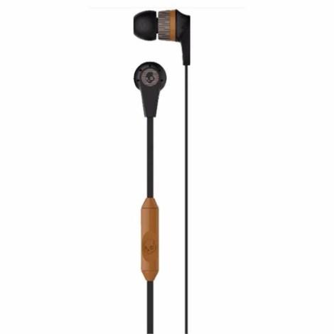 Audifonos Skullcandy Ink´d 2.0 Microfono  Black Tan en Web Electro
