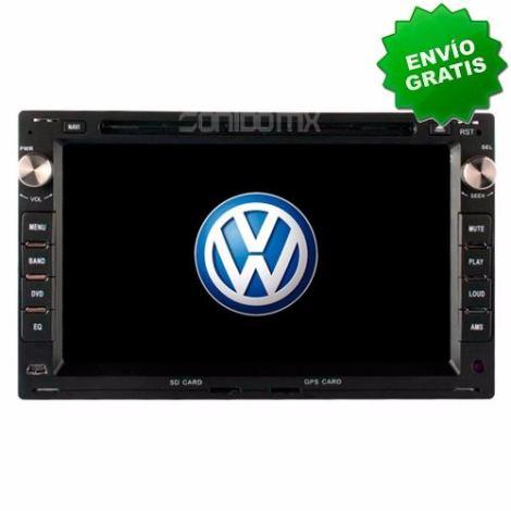Autoestereo Navegador Gps Vw Jetta Clasico A4 Golf Gti Dvd en Web Electro