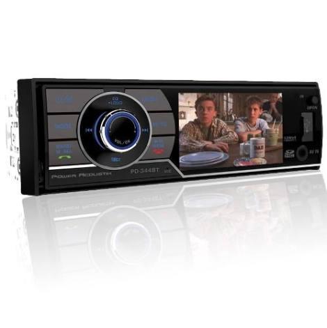 Autoestereo Power Acoustik Pd-344bt Usb Dvd Bluetooth Tv Lcd en Web Electro