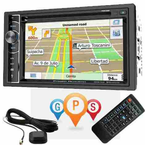 Autoestereo Power Acoustik Pdn-626b Bluetooth Gps Android en Web Electro