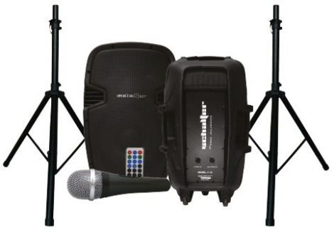 Bafle Bi Amplificado + Pasivo 15 Bluetooth Sd Fm Usb 7000w* en Web Electro