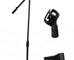 Base Para Micrófono Con Boom
