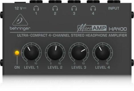 Behringer Ha400  Amplificador Ultra Compacto P/audifonos en Web Electro