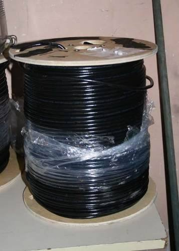 Bobina 305 Mts Coaxial Rg6 Negro Envio Gratis Facturacion en Web Electro