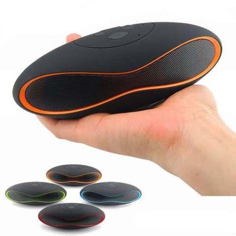 Bocina Mp3 Portatil Recargable Con Bluetooth Usb Sd X6u en Web Electro
